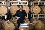 "Amador Vintner's Behind the Cellar Door event..G.M. ""Pooch"" Pucilowski conducts wine seminar at Cooper Vineyards"