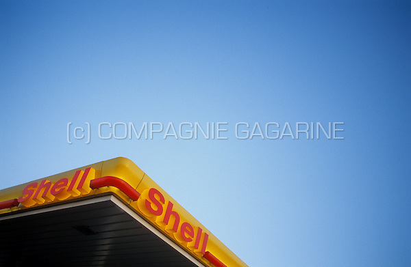 Shell fuel station in Belgium (26/07/2004)