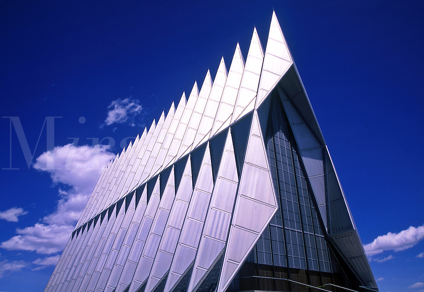 Air Force Academy cadet chapel.