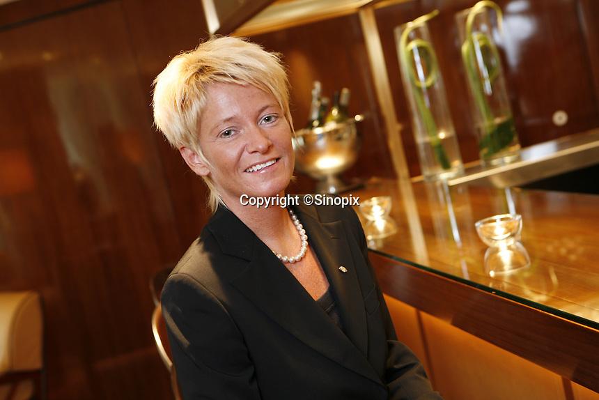 The general manager of the Landmark Mandarin Oriental, Susanne Hatje.