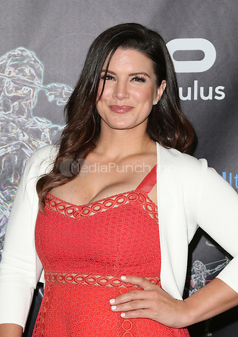 BEVERLY HILLS, CA - April 20: Gina Carano, At Artemis Women in Action Film Festival - Opening Night Gala At The Ahrya Fine Arts Theatre In California on April 20, 2017. Credit: FS/MediaPunch