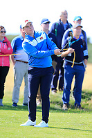 James Sugrue (GB&I) on the 5th fairway during the singles matches at the Walker Cup, Royal Liverpool Golf Club, Hoylake, Cheshire, England. 07/09/2019.<br /> Picture Fran Caffrey / Golffile.ie<br /> <br /> All photo usage must carry mandatory copyright credit (© Golffile | Fran Caffrey)