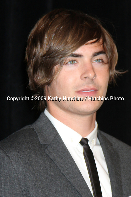 Zac Efron in the Press Room of the ShoWest Awards Gala at the Paris Hotel & Casino in Las Vegas, NV on April 2, 2009.©2009 Kathy Hutchins / Hutchins Photo....                .