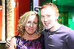Olivia Keogh and Kevin Atkinson enjoying a night in WM Cairnes.<br /> Picture: Shane Maguire / www.newsfile.ie