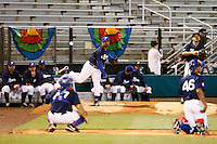 21 September 2012: Keino Perez and Thomas Meley are seen in the bullpen during France vs South Africa tie game 2-2, rain delayed at the end of the 9th inning at 1 AM, during the 2012 World Baseball Classic Qualifier round, in Jupiter, Florida, USA. Game to resume 22 September 2012 at noon.