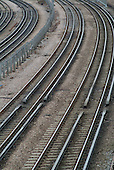 London Underground line near Kilburn station on the Jubilee line.