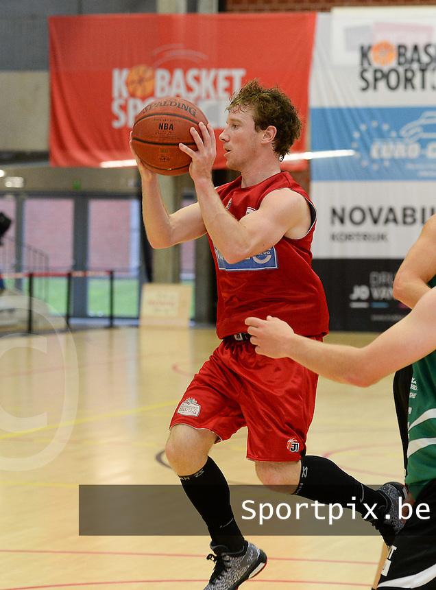 Kortrijk Sport CB : Jelle Vandenwauver <br /> foto VDB / BART VANDENBROUCKE