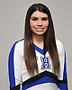 Christina Mallano of Hauppauge poses for a portrait during the Newsday All-Long Island varsity cheerleading photo shoot at company headquarters on Wednesday, Mar. 30, 2016.