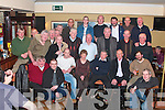 Pat O'Sullivan from Cllobraghan Killarney, seated centre was joined by family and work colleagues .in The Olde bar and restaurant Killarny on Friday to celebrate his retirement for The Leibherr Factory in Killarney..   Copyright Kerry's Eye 2008