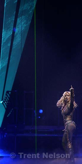Britney Spears performs at the Delta Center. 11/13/2001, 9:22:53 PM<br />