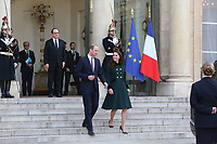 LE PRINCE WILLIAM ET KATE RECUS A L' ELYSEE PAR LE PRESIENT FRANCOIS HOLLANDE A L' ELYSEE, PARIS 17 MARS 2017
