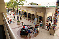 Shoppers at Metrocentro, the largest shopping mall in Central America, San Salvador, El Salvador