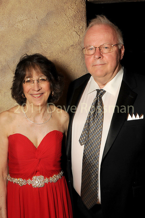 Dr. Mary Schwartz and Dr. David Cech at the Ole! A Night in Old Mexico Gala at the Museum of Natural Science Saturday March 05,2016.(Dave Rossman Photo)