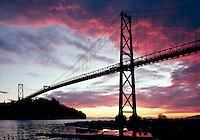 Lion's Gate Bridge, Vancouver, BC, Canada