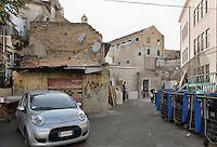 Palermo; via casa Professa.<br /> Palermo; casa Professa road
