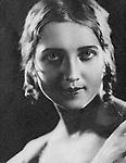 Анна Алексеевна Судакевич — советская актриса, художник по костюмам. 1928 год. / Anna Sudakevich - Soviet actress, costume designer. 1928 year.