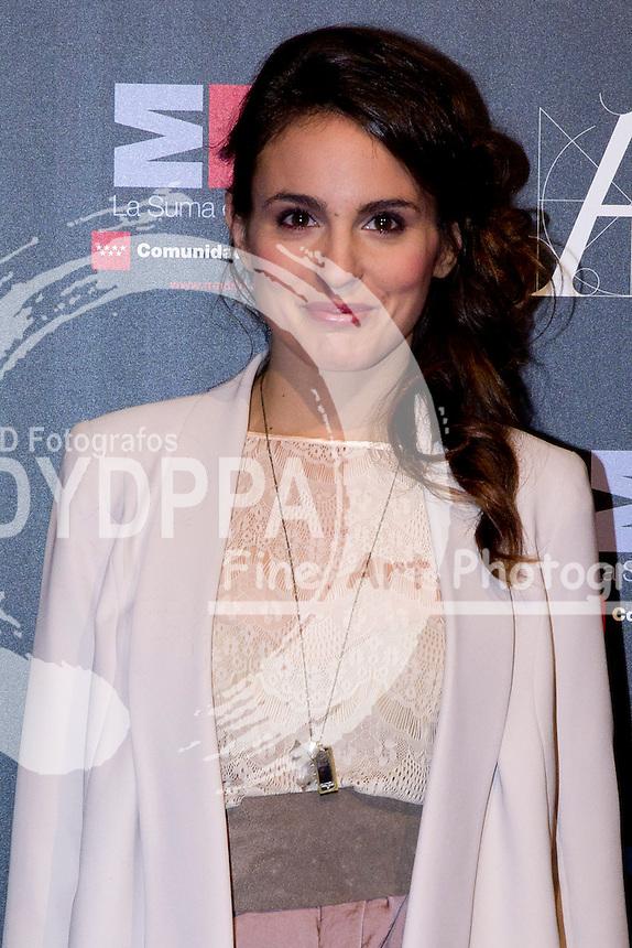 28/01/2012. Real Casa de Correos. Madrid. Spain. Goya Awards Nominated Gala 2012. Veronica Echegui