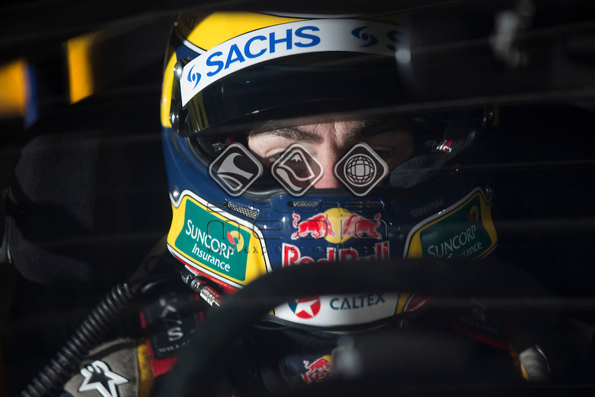 Craig Lowndes of Red Bull Racing Australia during the TYREPOWER TASMANIA 400, Event 02 of the 2014 Australian V8 Supercars Championship Series at the Symmons Plains Raceway, Launceston, Tasmania, March 28, 2014.<br /> &copy; Sport the library / Mark Horsburgh