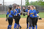 Union County Softball Semifinals 7May2017.  Cranford vs Governor Livingston and Westfield vs AL Johnson