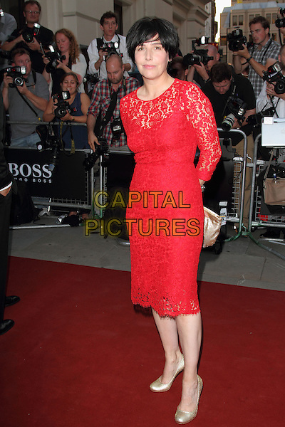 Sharleen Spiteri<br /> GQ Men of the Year Awards 2013 at the Royal Opera House, London, England.<br /> 3rd September 2013<br /> full length red lace dress  <br /> CAP/ROS<br /> &copy;Steve Ross/Capital Pictures