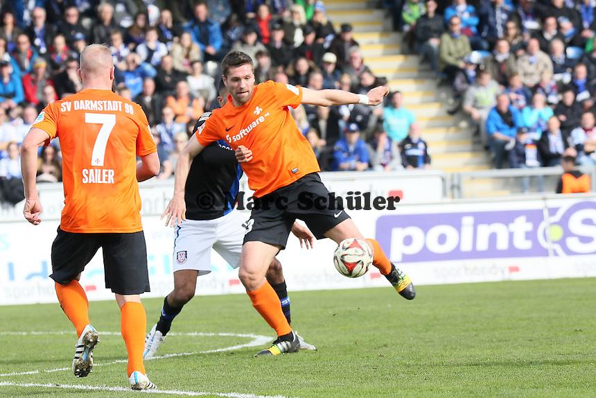 Ronny Koenig (SV98) zieht ab - FSV Frankfurt vs. SV Darmstadt 98, Frankfurter Volksbank Stadion