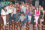Kieran Flaherty from Lenamore, Ballylongford, seated centre  in the black top  celebrated his 21st birthday with family and friends in the Klub in Listowel on Friday night...........   Copyright Kerry's Eye 2008