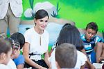 Queen Letizia of Spain during the opening of School Year in Torrejoncillo (Caceres). September 17, 2019. (ALTERPHOTOS/Francis Gonzalez)