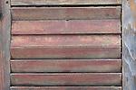 Old shutter panel.