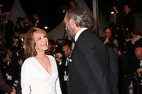 NATHALIE BAYE AND VINCENT CASSEL - RED CARPET OF THE FILM 'JUSTE LA FIN DU MONDE' AT THE 69TH FESTIVAL OF CANNES 2016