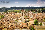 Image Ref: SWISS058<br /> Location: Schaffhausen, Switzerland<br /> Date of Shot: 20th June 2017