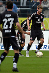 GER - Sandhausen, Germany, March 19: During the 2. Bundesliga soccer match between SV Sandhausen (white) and FC ST. Pauli (grey) on March 19, 2016 at Hardtwaldstadion in Sandhausen, Germany. (Photo by Dirk Markgraf / www.265-images.com) *** Local caption *** Daniel Buballa #15 of FC St. Pauli