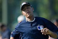 Baseball - MLB Academy - Tirrenia (Italy) - 19/08/2009 - Raul Agueda Padilla (Spain)