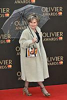 Imelda Staunton<br /> The Olivier Awards 2018 , arrivals at The Royal Albert Hall, London, UK -on April 08, 2018.<br /> CAP/PL<br /> &copy;Phil Loftus/Capital Pictures