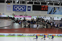 SCHAATSEN: SALT LAKE CITY: Utah Olympic Oval, 16-11-2013, Essent ISU World Cup, Team Pursuit, overzicht, ©foto Martin de Jong