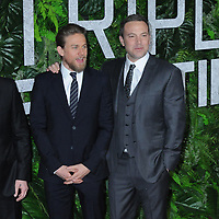 03 March 2019 - New York, New York - Charlie Hunnam and Ben Affleck. The World Premiere of &quot;Triple Frontier&quot; at Jazz at Lincoln Center. <br /> CAP/ADM/LJ<br /> &copy;LJ/ADM/Capital Pictures