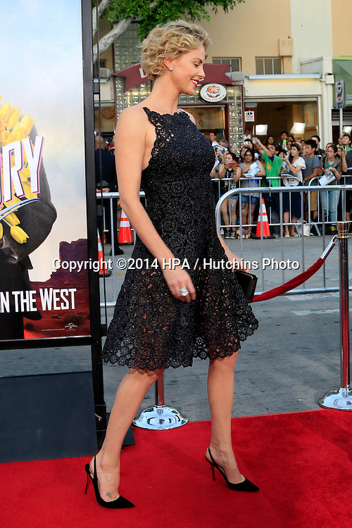 "LOS ANGELES - MAY 15:  Charlize Theron at the ""A Million Ways To Die In The West"" World Premiere at Village Theater on May 15, 2014 in Westwood, CA"