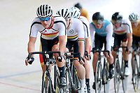 Pieter Bulling of Southland leads out front in the Elite Men Omnium 1, Scratch race 10km at the Age Group Track National Championships, Avantidrome, Home of Cycling, Cambridge, New Zealand, Saturday, March 18, 2017. Mandatory Credit: © Dianne Manson/CyclingNZ  **NO ARCHIVING**
