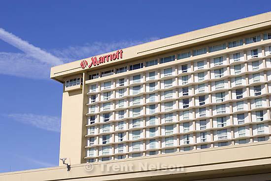 marriott hotel.Sunday April 19, 2009 in Los Angeles.