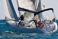 ESP7743  .ARAS  .Pedro Rodriguez  .J.Luis Bañuls  .independiente  .Dufour 34 XXII Trofeo 200 millas a dos - Club Náutico de Altea - Alicante - Spain - 22/2/2008