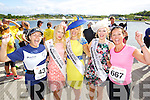 Jane Boyle and Aine Butler pictured at the Rose of Tralee International 10k Race in Tralee on Sunday.