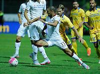 Bruno Peres durante l'incontro di calcio di Serie A   Frosinone - Torino  allo  Stadio Matusa di   di Frosinone ,23 Agosto 2015