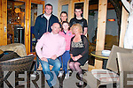 Birthday.--------.Robert O'Mahony,Cloghers,Tralee(centre)celebrated his 50th birthday last Friday night in Jess McCarthy's bar,Castle St,Tralee,