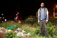 Kennedy Mbai, 16, a street kid who lives in Westlands, Nairobi.