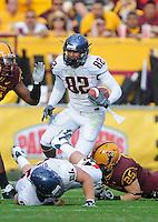 Nov. 28, 2009; Tempe, AZ, USA; Arizona Wildcats wide receiver (82) Juron Criner against the Arizona State Sun Devils at Sun Devil Stadium. Arizona defeated Arizona State 20-17. Mandatory Credit: Mark J. Rebilas-