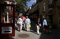Quebec (QC) CANADA - Sept 5 2009 - -  Le petit champlain