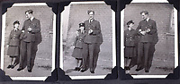 BNPS.co.uk (01202 558833)<br />Pic: C&T/BNPS<br /><br />Flt Lt Antoni Lipkowski with a tiny WAAF - he was initially thought to be to tall to fit into the Spitfire but proved his doubters wrong.<br /> <br /> A fascinating photo album has sold for £1200 at auction - the previously unseen photographs chart the wartime career of Polish aristocrat Antoni Lipkowski -revealing how the emigree from Nazi Europe became a fighter pilot in the RAF.<br /> <br /> Flight Lieutenant Antoni Lipkowski escaped Poland when Germany invaded in 1939 and was desperate to join in the fight against the Nazis.<br /> <br /> Previously a cavalry officer, he retrained as a pilot and joined one of the Polish squadrons based in Britain which did such sterling work defending these skies in World War Two.<br /> <br /> Flt Lt Lipkowski, of 316 Polish Fighter Squadron, was very tall for a pilot and turned heads with his 'handsome' appearance.<br /> <br /> There are images of him in the cockpit of his Spitfire and posing nonchalantly in front of it with a cigarette in his hand.