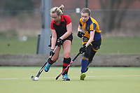 Upminster HC Ladies 3rd XI vs Havering HC 2nd XI 10-03-18