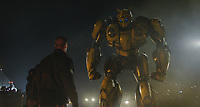 Bumblebee (2018)<br /> John Cena as Agent Burns and Bumblebee <br /> *Filmstill - Editorial Use Only*<br /> CAP/MFS<br /> Image supplied by Capital Pictures