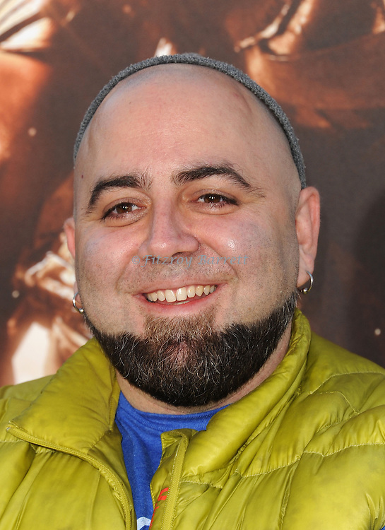 Duff Goldman at the RIDDICK World Premiere, held at the Regency Village Theater Los Angeles, Ca. August 28, 2013