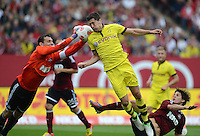 Fussball Bundesliga 2012/13: 1. FC Nuernberg - Borussia Dortmund